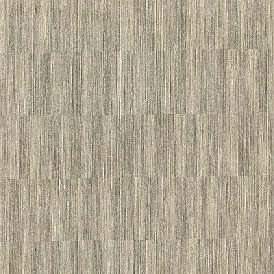 Barie Taupe Vertical Tile Wallpaper