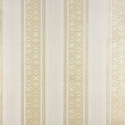Mackenzie Gold Stripe Wallpaper