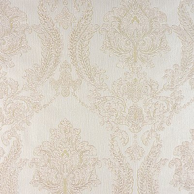 Maizey Cream Damask Wallpaper