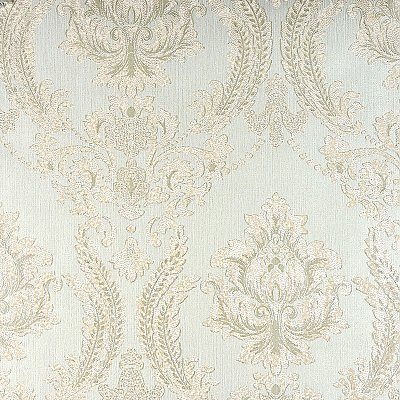 Maizey Mint Damask Wallpaper