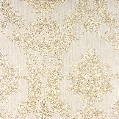 Maizey Neutral Damask Wallpaper