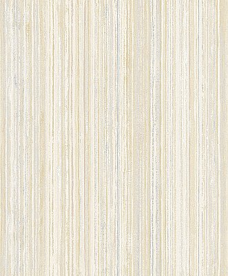 Grace Yellow Stripe  Wallpaper