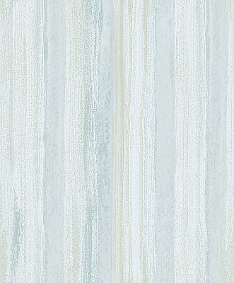 Donella Light Blue Stripe  Wallpaper