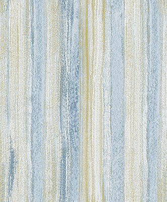 Donella Blue Stripe  Wallpaper