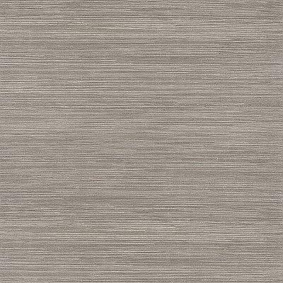 Tagum Grey Grasscloth Wallpaper