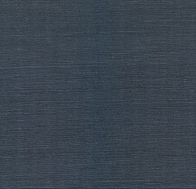 Peninnsula Navy Sisal Grasscloth Wallpaper