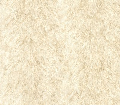 Trieste Cream Wolf Wallpaper