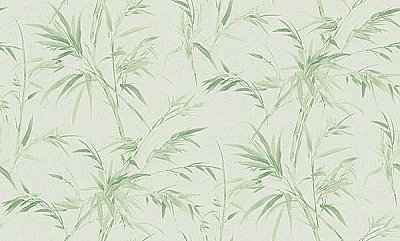 Hali Light Green Fronds Wallpaper