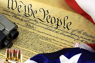 U.S. Constitution 2a HUGE Peel & Stick CANVAS Poster 2