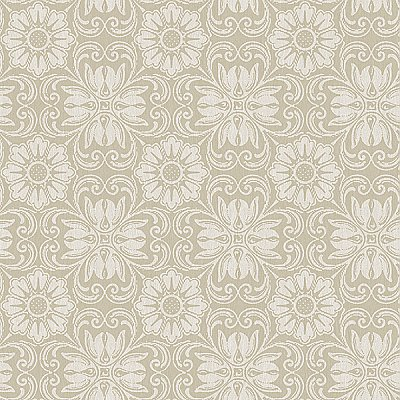 Hessle Taupe Floral Wallpaper