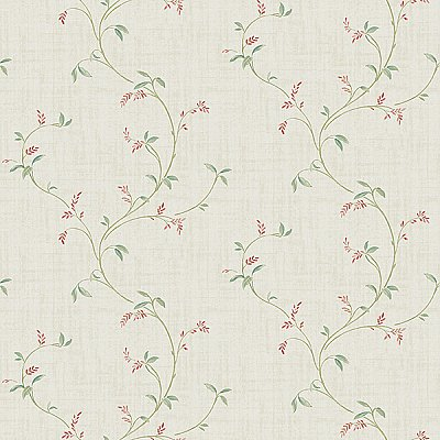 Madeley Coral Floral Trail Wallpaper