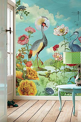 Kiss The Frog Wall Mural