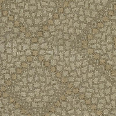 Kilim Brass Aztec Diamond Wallpaper