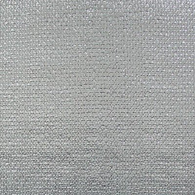 Ziba Aquamarine Metallic Woven Texture Wallpaper