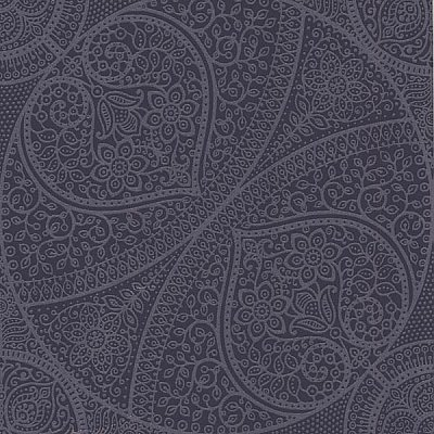 Yasamin Blueberry Mehndi Medallion Wallpaper