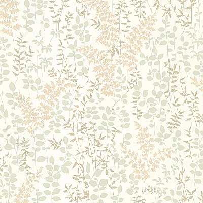 Dixon Beige Forest Leaves Wallpaper