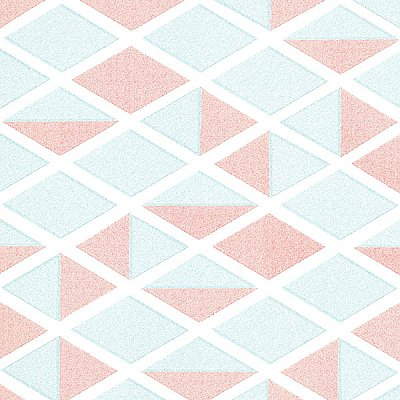 Simon Turquoise Geometric Wallpaper