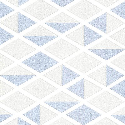 Simon Navy Geometric Wallpaper