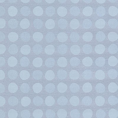 Dotties Sky Blue Polka Dot Wallpaper