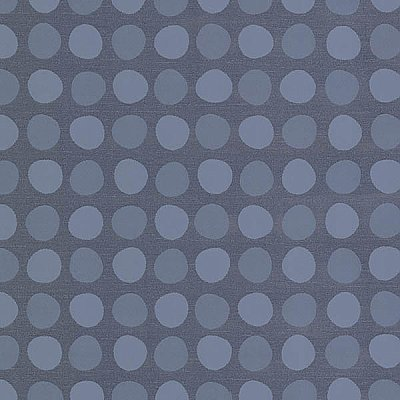Dotties Navy Polka Dot Wallpaper