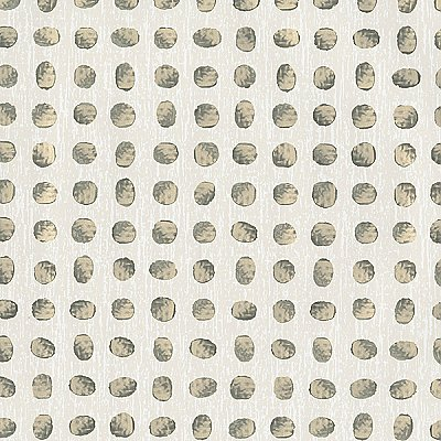 Dee Cream Metallic Dot Wallpaper