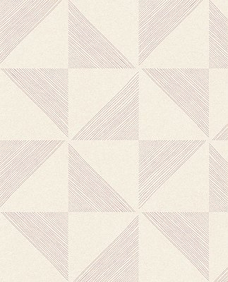 Mont Pink Geometric Wallpaper