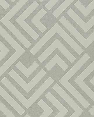 Zig Mint Geometric Wallpaper