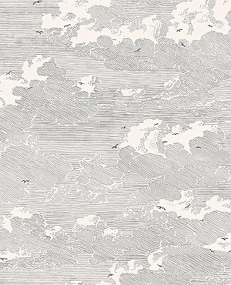 Palila Cream Cloud Wallpaper