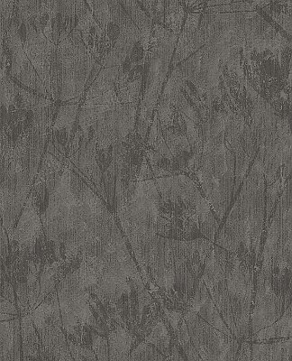 Jens Charcoal Branches Wallpaper