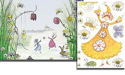 Fairy Princess & Friends Mural S-4-260 Hot Deal
