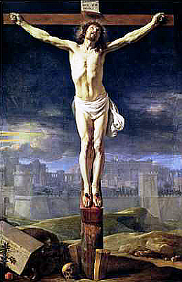 Christ Crucified by Diego Velázquez