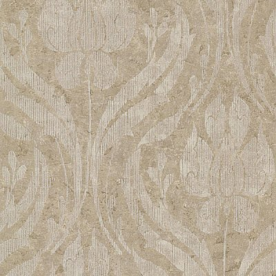 Carrara Bronze Textured Damask Wallpaper