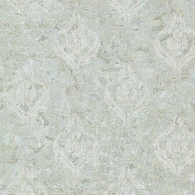 Benza Light Green Small Textured Damask Wallpaper