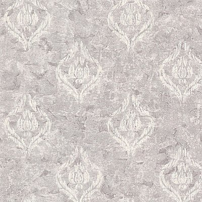 Benza Lavender Small Textured Damask Wallpaper
