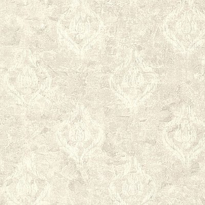 Benza Light Grey Small Textured Damask Wallpaper