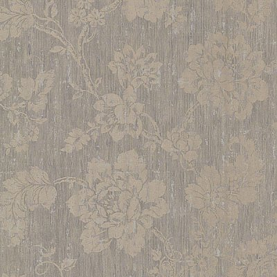 Giardina Grey Floral Trail Wallpaper