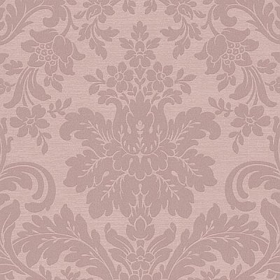 Birgitta Rose Damask Wallpaper