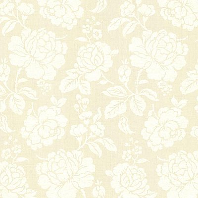 Sloane Cream Rose Trail Wallpaper