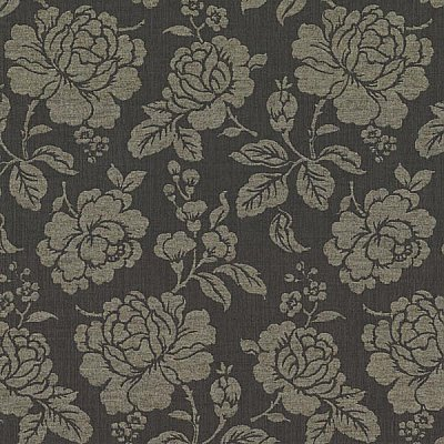 Sloane Black Rose Trail Wallpaper