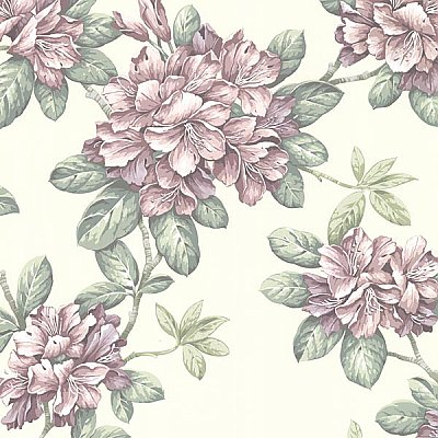 Bree Blush Lily Trail Wallpaper