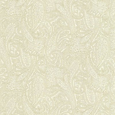 Finola Gold Paisley Wallpaper