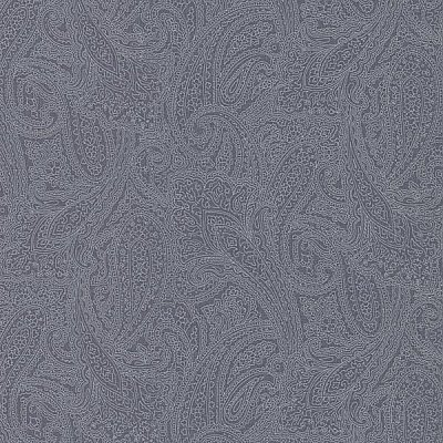 Finola Denim Paisley Wallpaper