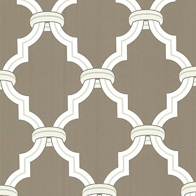 Byrne Pewter Ironwork Wallpaper