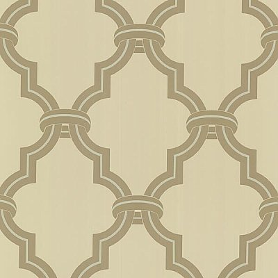 Byrne Beige Ironwork Wallpaper