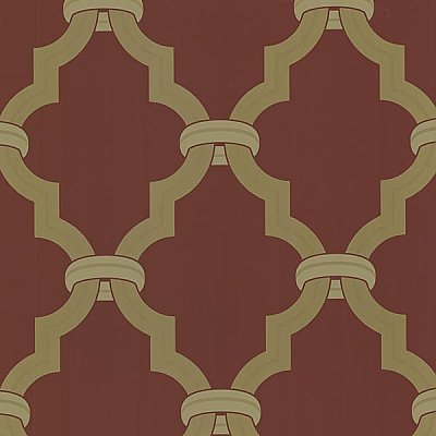 Byrne Cherry Ironwork Wallpaper