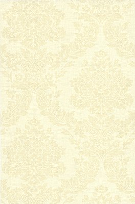 Rice Cream Meridian Damask Wallpaper