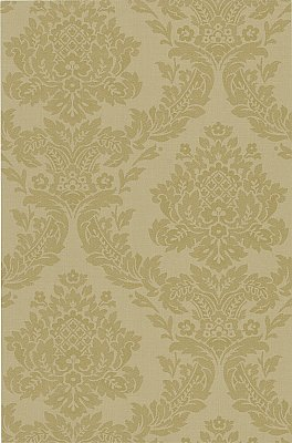 Rice Ale Meridian Damask Wallpaper