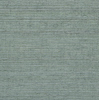 Aubrey Blue Grasscloth Wallpaper