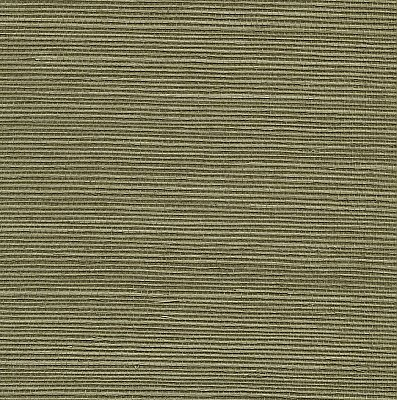 Aubrey Green Grasscloth Wallpaper