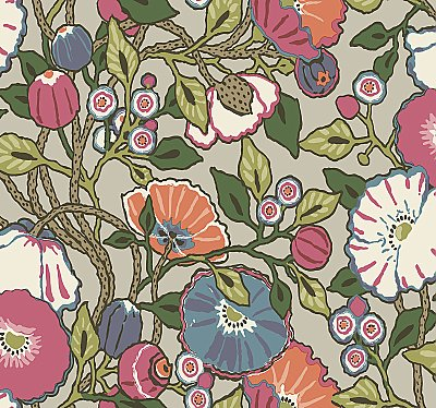 Vincent Poppies Wallpaper